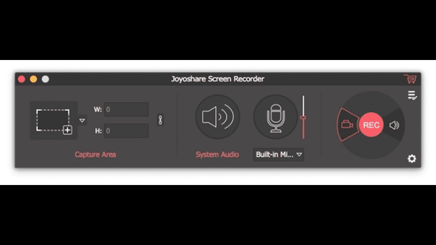 Joyoshare Screen Recorder for Mac - review, screenshots