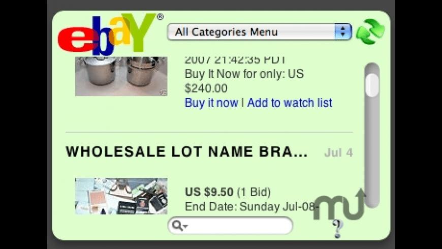 eBay Explorer for Mac - review, screenshots