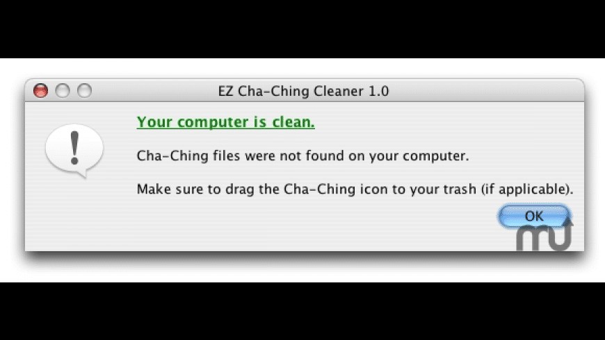 EZ Cha-Ching Cleaner for Mac - review, screenshots
