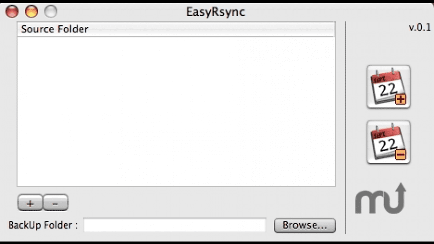 EasyRsync for Mac - review, screenshots