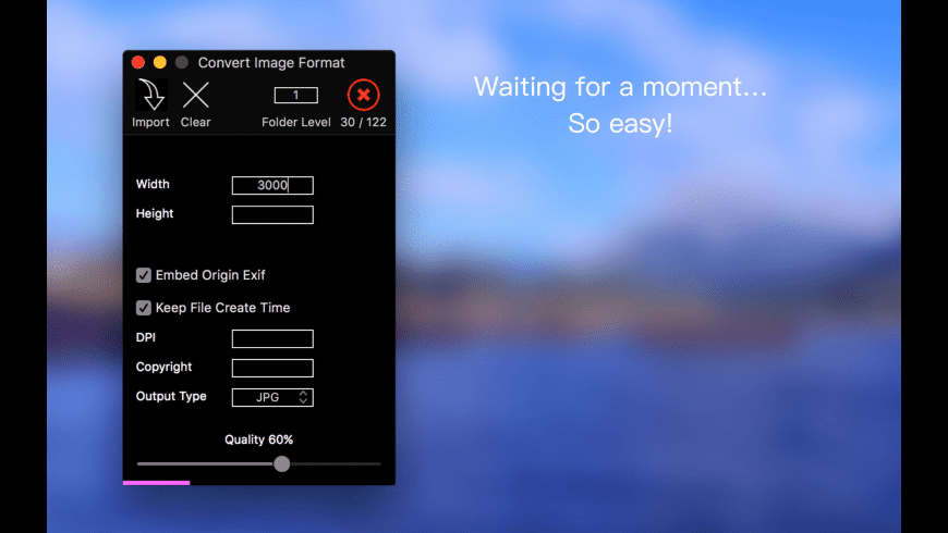 Convert Image Format for Mac - review, screenshots