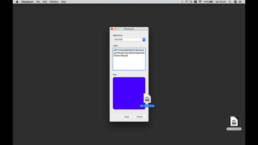 Checksum for Mac - review, screenshots