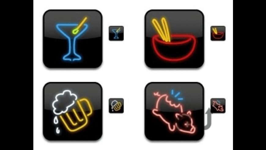 Dine-O-Matic Icons for Mac - review, screenshots