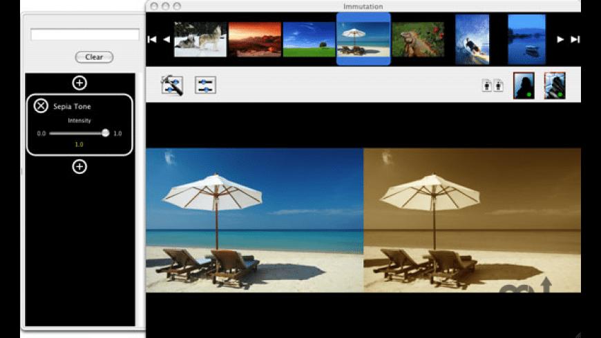 Immutation for Mac - review, screenshots