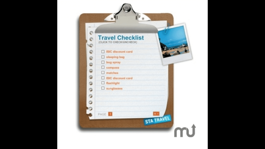 Travel To-Do List for Mac - review, screenshots