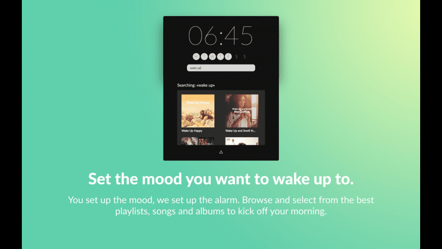 Wakefy for Mac - review, screenshots