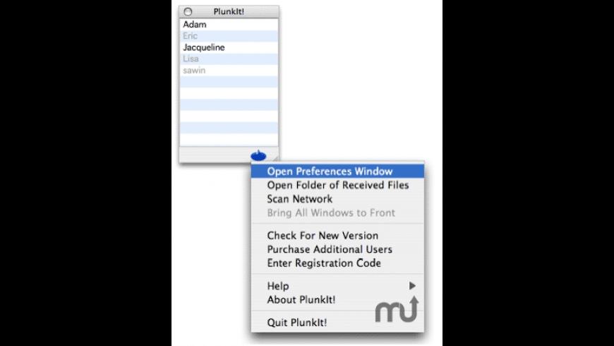 Plunkit! for Mac - review, screenshots