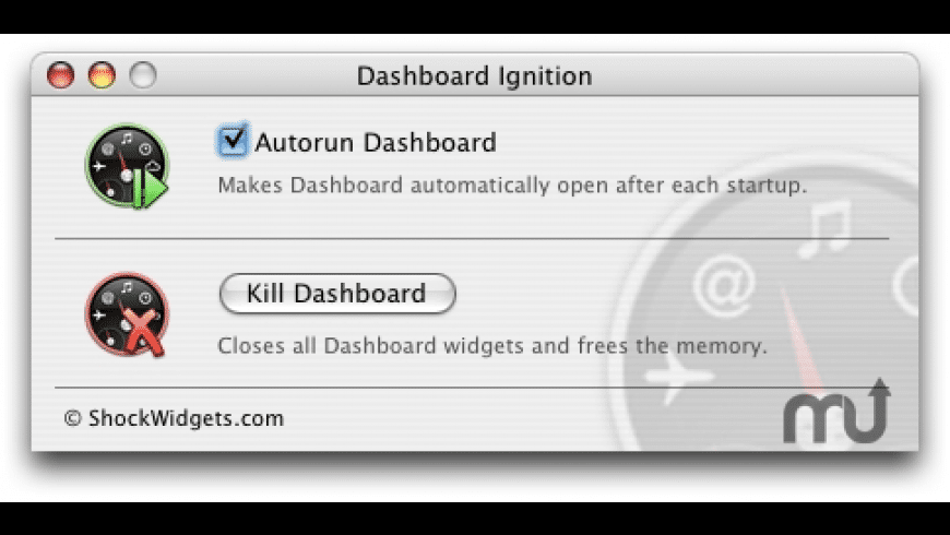 Dashboard Ignition for Mac - review, screenshots