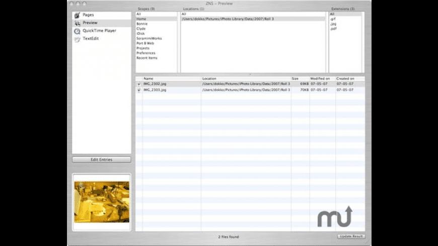 ZNS for Mac - review, screenshots