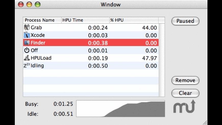 HPULoad for Mac - review, screenshots