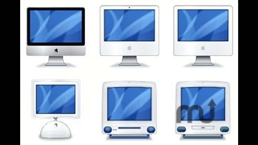 iMac Evolution icons for Mac - review, screenshots