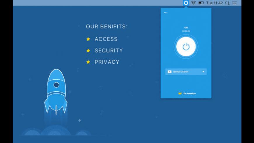 Shield VPN for Mac - review, screenshots