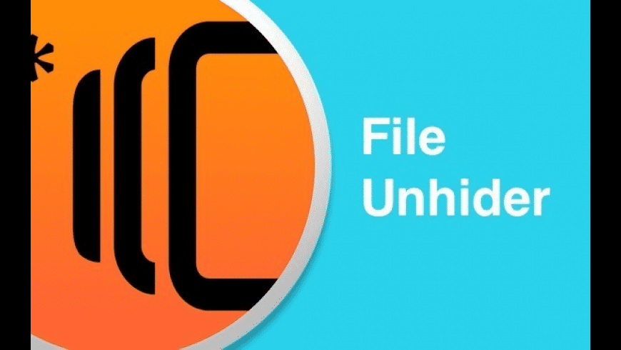 FileUnhider for Mac - review, screenshots