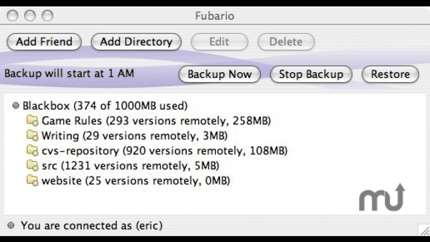 Fubario for Mac - review, screenshots