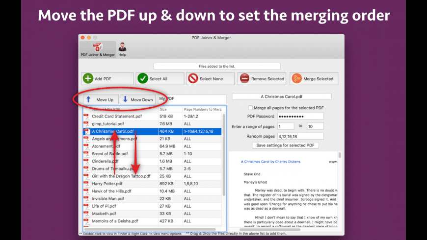 PDF Joiner & Merger for Mac - review, screenshots