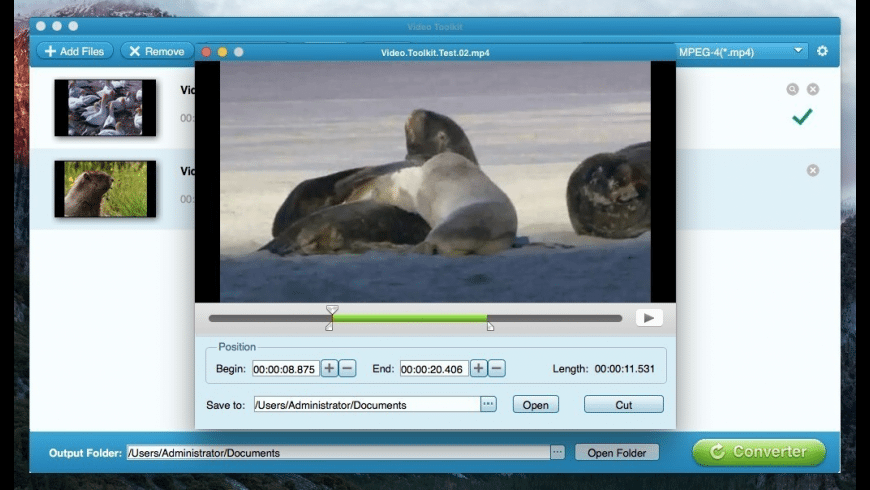 Video Toolkit for Mac - review, screenshots