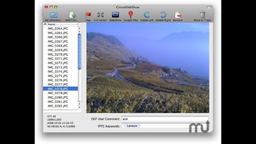 CocoaSlideShow for Mac - review, screenshots