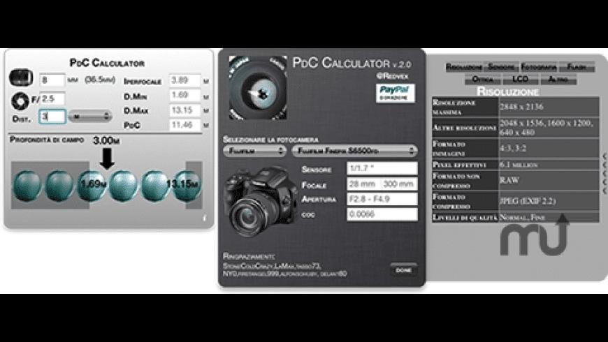 PdC Calculator for Mac - review, screenshots