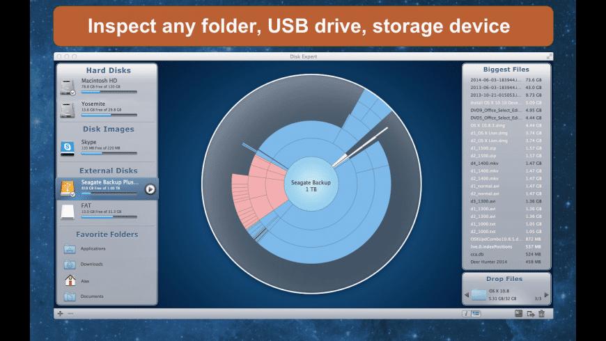 Disk Expert for Mac - review, screenshots