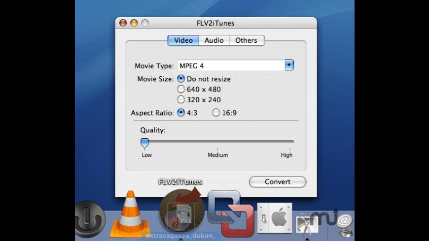 FLV2iTunes for Mac - review, screenshots