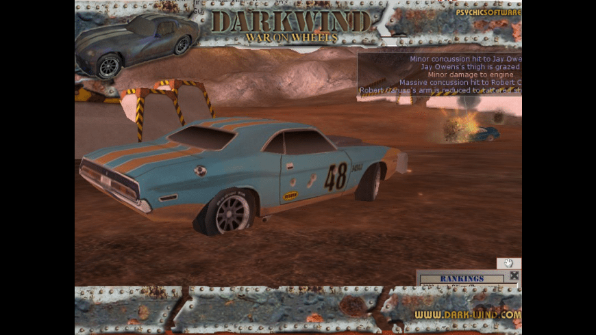 Darkwind: War On Wheels for Mac - review, screenshots