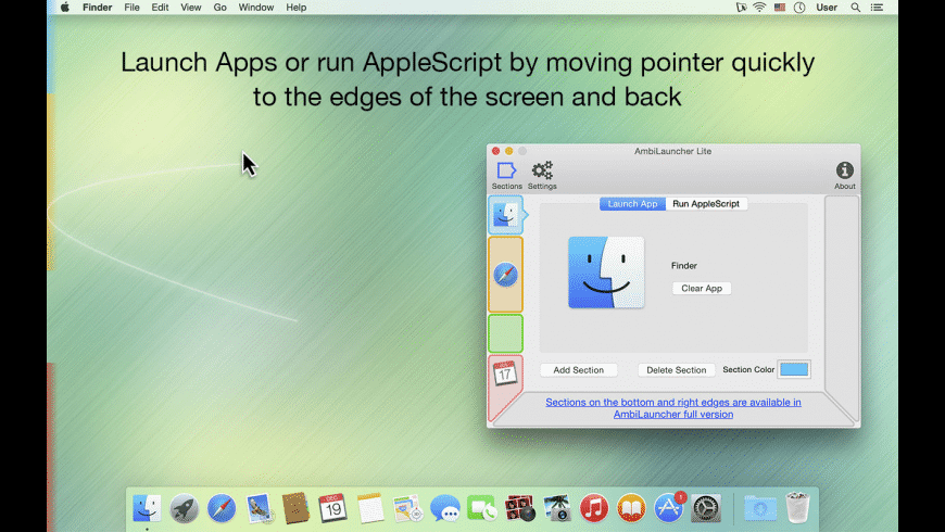 AmbiLauncher for Mac - review, screenshots