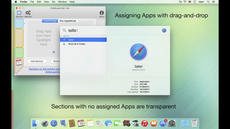 AmbiLauncher for Mac - review, screenshots