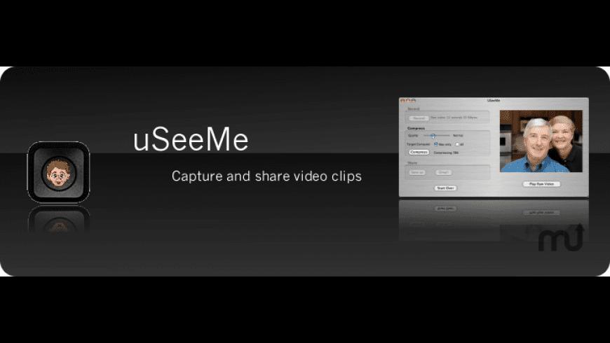 USeeMe for Mac - review, screenshots
