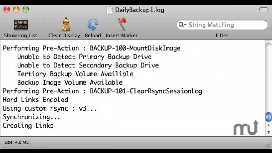 LBackup for Mac - review, screenshots
