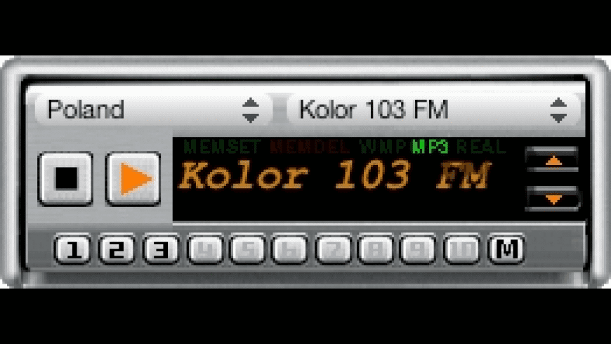WorldRadio Widget for Mac - review, screenshots