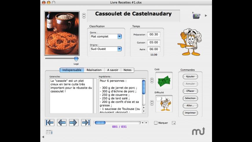 CookiX for Mac - review, screenshots