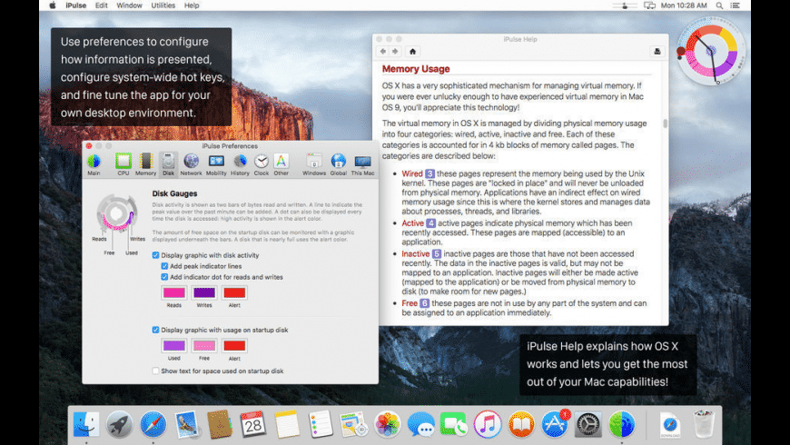 iPulse for Mac - review, screenshots