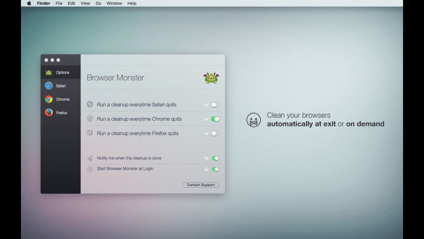 Browser Monster for Mac - review, screenshots