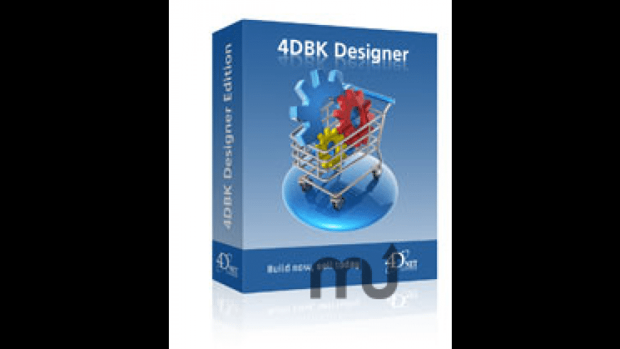 4DBK Designer for Mac - review, screenshots