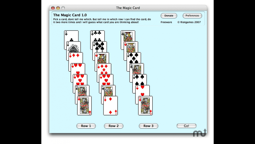 The Magic Card for Mac - review, screenshots