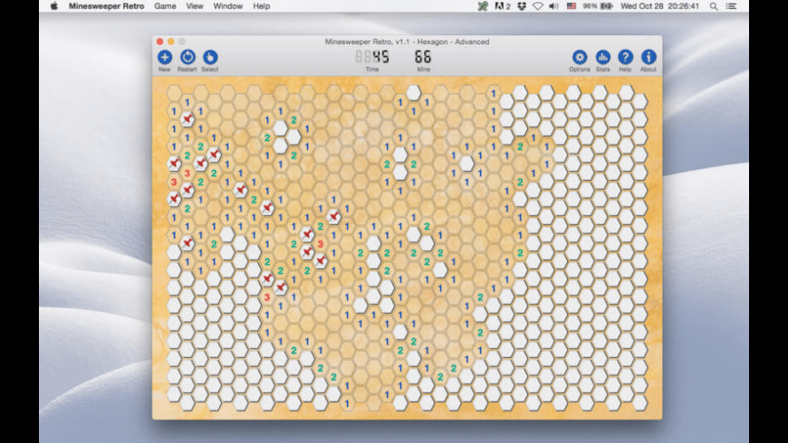 Minesweeper Retro for Mac - review, screenshots