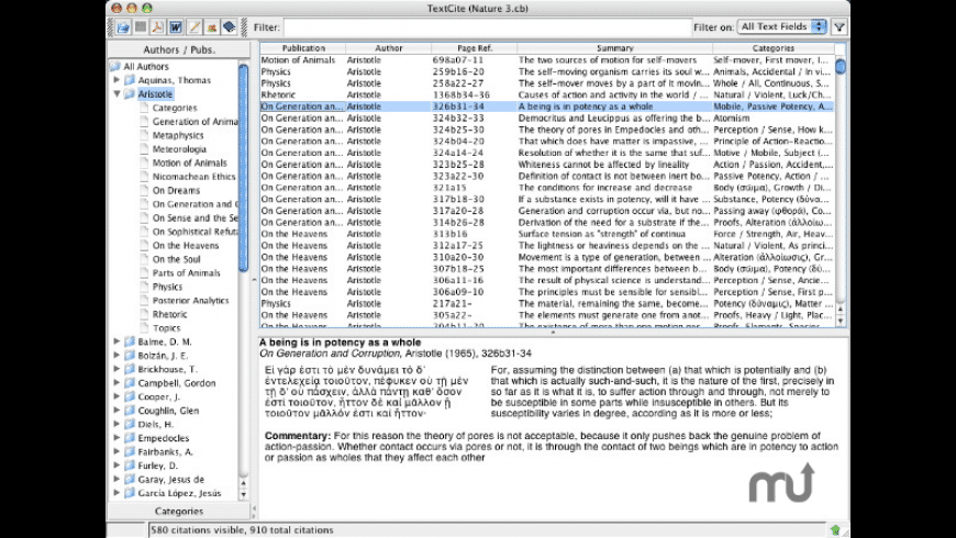 TextCite for Mac - review, screenshots