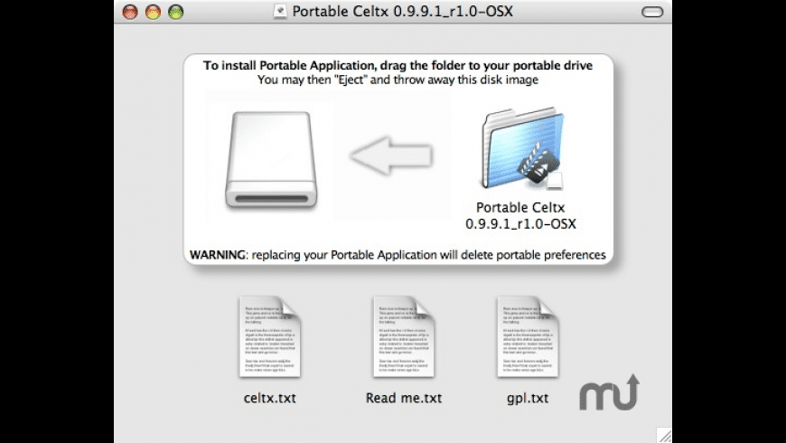 Portable Celtx for Mac - review, screenshots