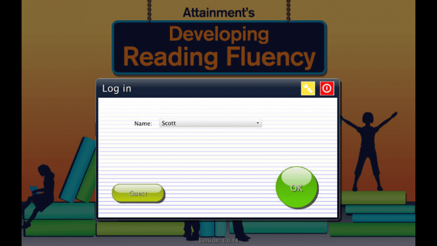 Developing Reading Fluency for Mac - review, screenshots