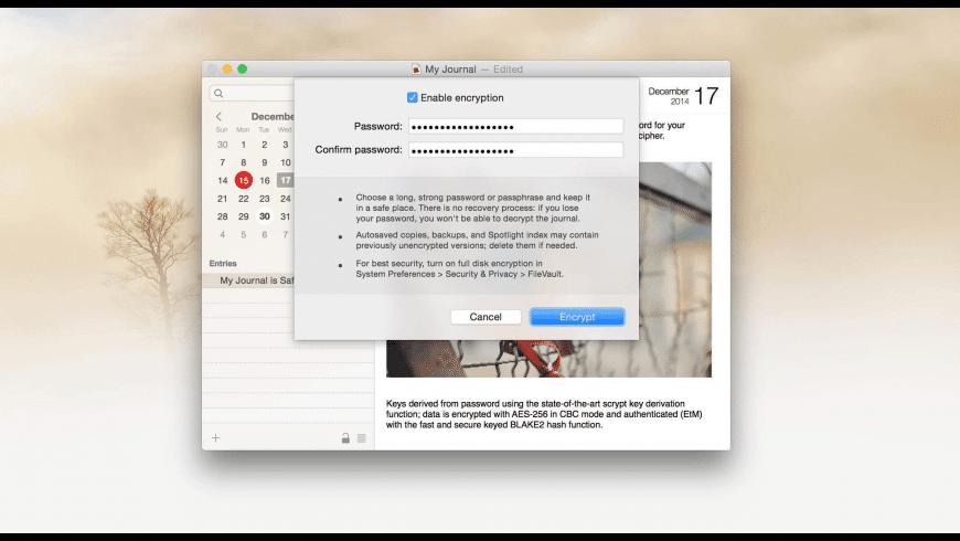 Memoires for Mac - review, screenshots