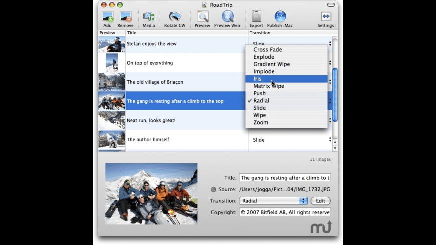 SlideshowMovie for Mac - review, screenshots