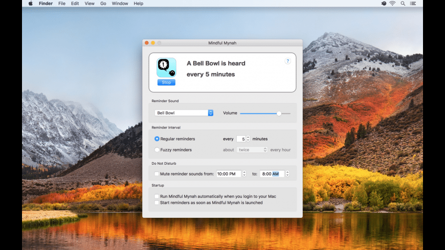 Mindful Mynah for Mac - review, screenshots