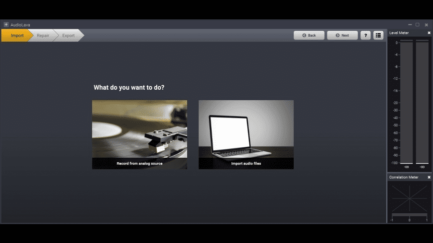 AudioLava for Mac - review, screenshots