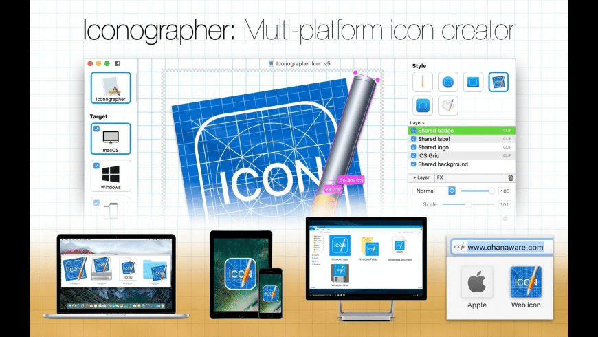 Iconographer for Mac - review, screenshots