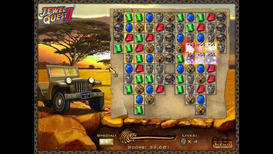 Jewel Quest II for Mac - review, screenshots