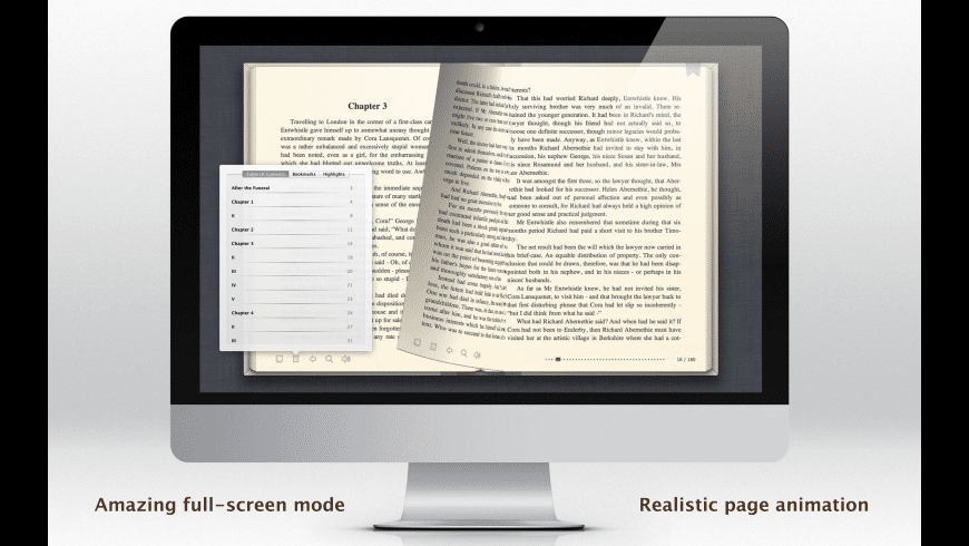 E-Book Viewer for Mac - review, screenshots