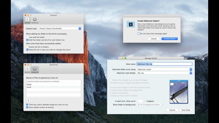 Add Folder Icons for Mac - review, screenshots