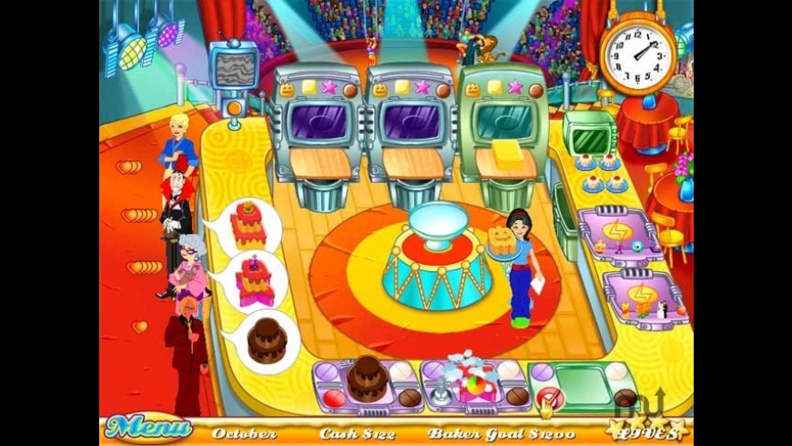 Cake Mania for Mac - review, screenshots