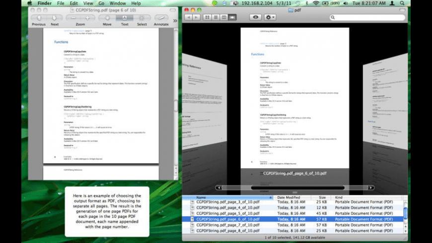 PDFDek for Mac - review, screenshots