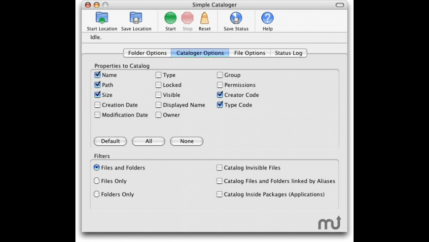 Simple Cataloger for Mac - review, screenshots